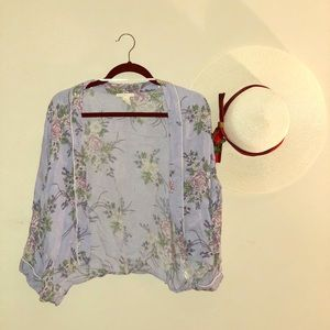 Forever 21 Floral Cover Up